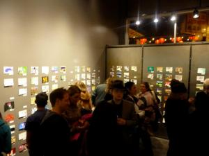 3rd twitterartexhibit Packed