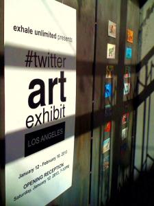 4th Annual Twitterartexhibit   Thursday March 20, 2014  6  To 9 PM    March 20 - April 11, 2014